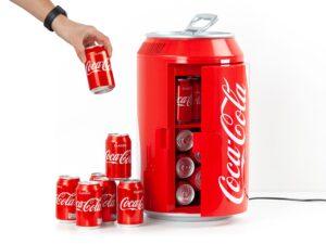 Coca-Cola Minikøleskab Julegave