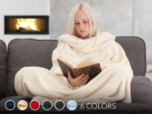 Snug Rug Deluxe tæppe med ærmer Julegave